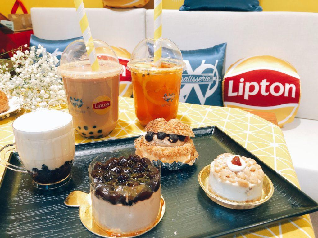 全聯咖啡廳 珍奶甜點