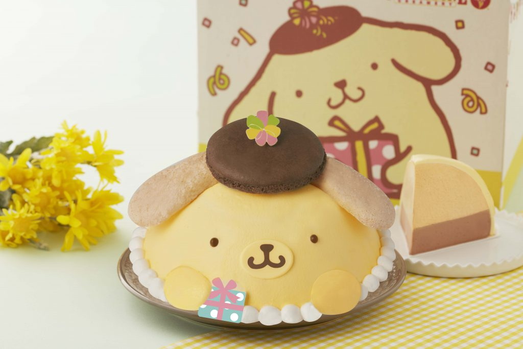 COLD STONE「萌萌布丁狗」冰淇淋蛋糕