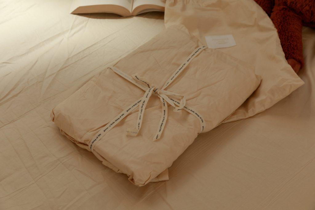 &ROOM 舒適精梳棉素色床包