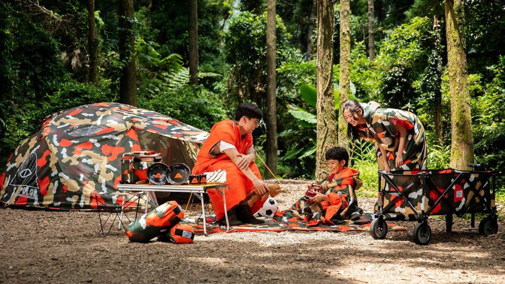 全聯雙人帳篷(限量500件)市價 NT$14,800(圖/品牌提供)