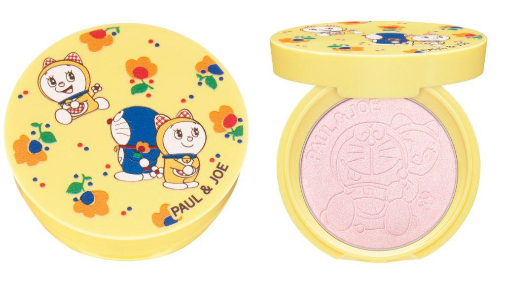 糖瓷校色珍珠蜜粉餅 3g(圖/PAUL&JOE、ⒸFujiko-Pro)
