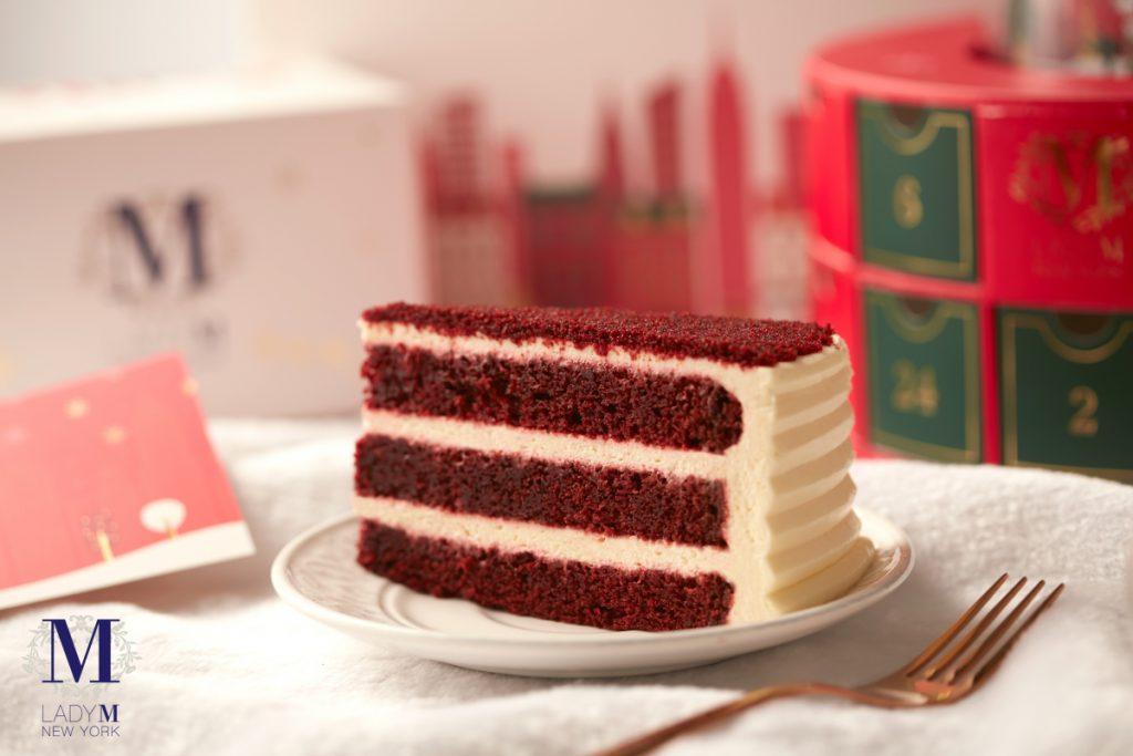 紅絲絨蛋糕 單片 NT$260、九吋 NT$2,600