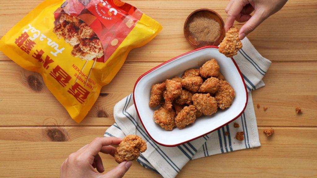 冷凍香香炸雞 475g/NT$195
