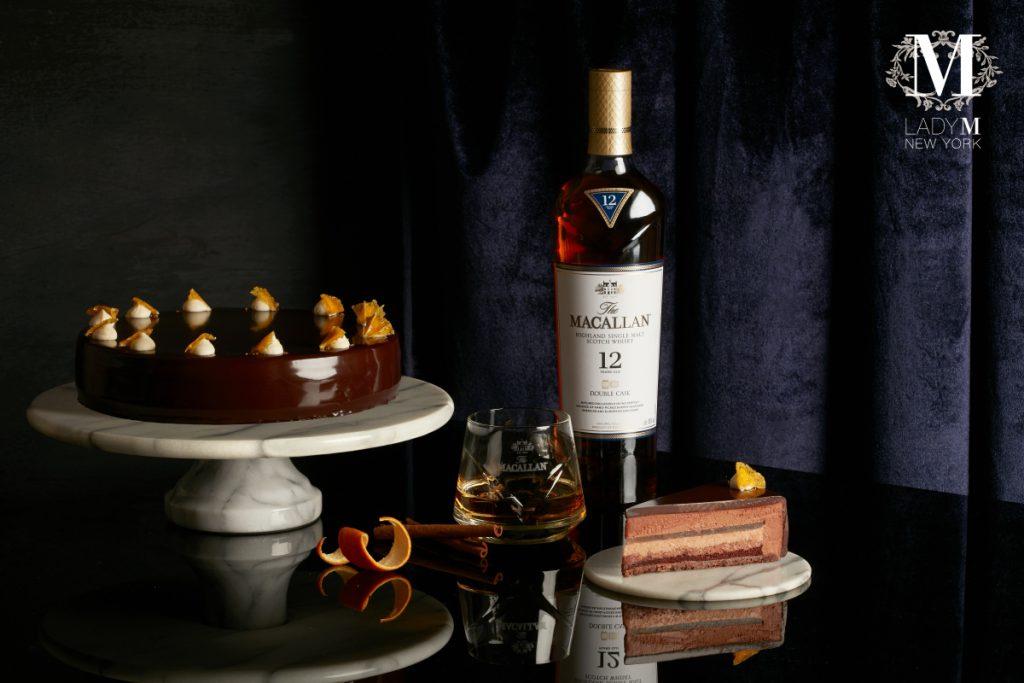威士忌巧克力慕斯 切片/NT$280、九吋/NT$2,800
