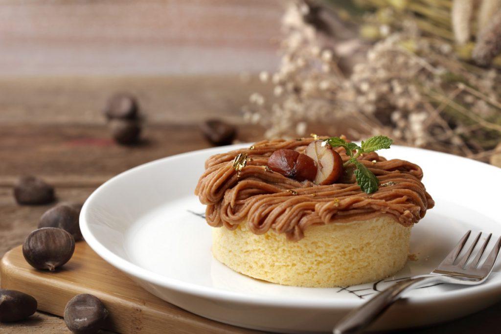 栗子蒙布朗厚鬆餅 NT$260