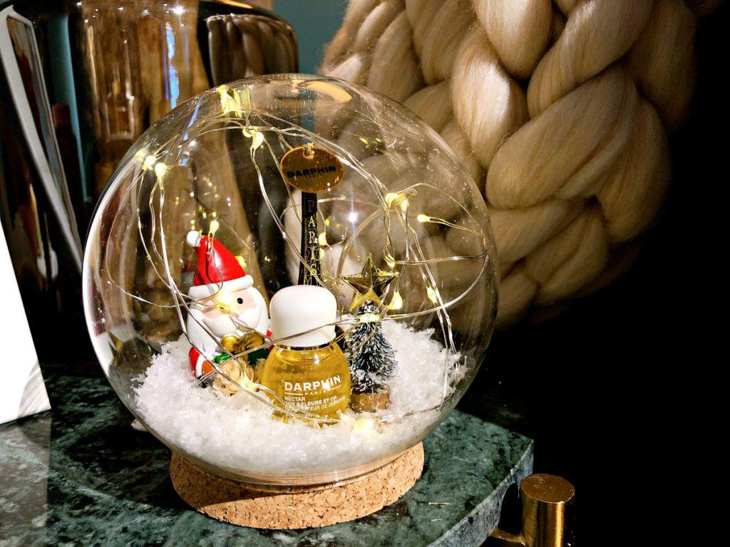 巴黎耶誕雪花球