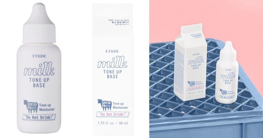 牛奶肌潤色飾底乳 50ml/NT$450