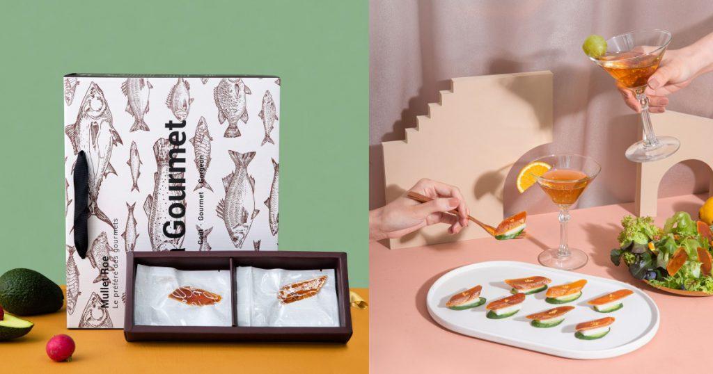 老饕鮮生 一口烏魚子大禮盒 3包/NT$1,680 一口烏魚子小禮盒 1包/NT$600