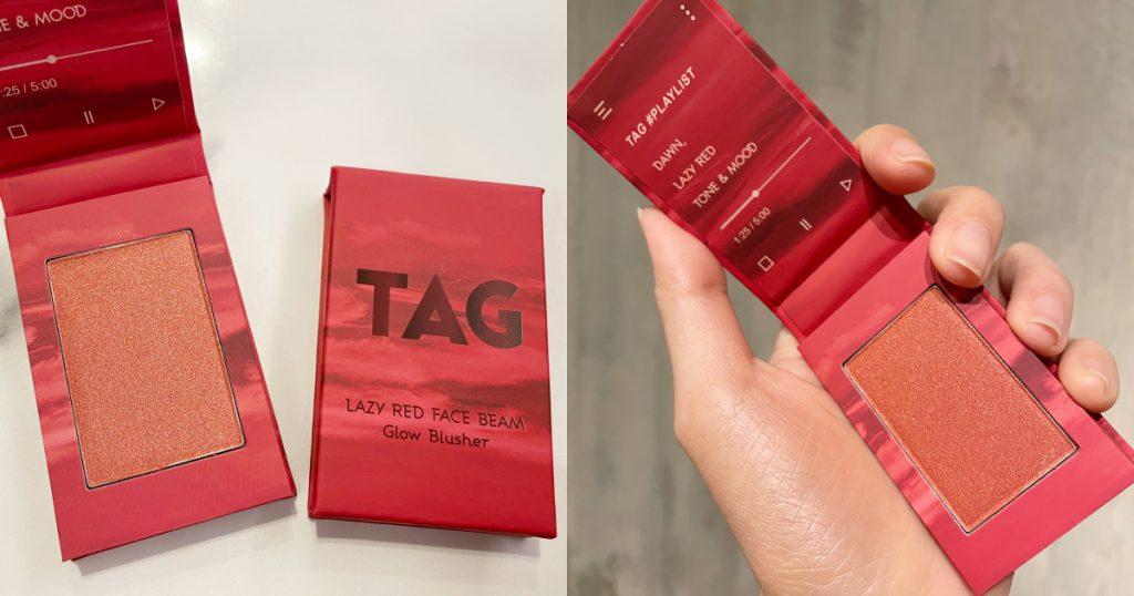 TAG2 緋紅迷情系列-蜜金頰彩 NT$ 420