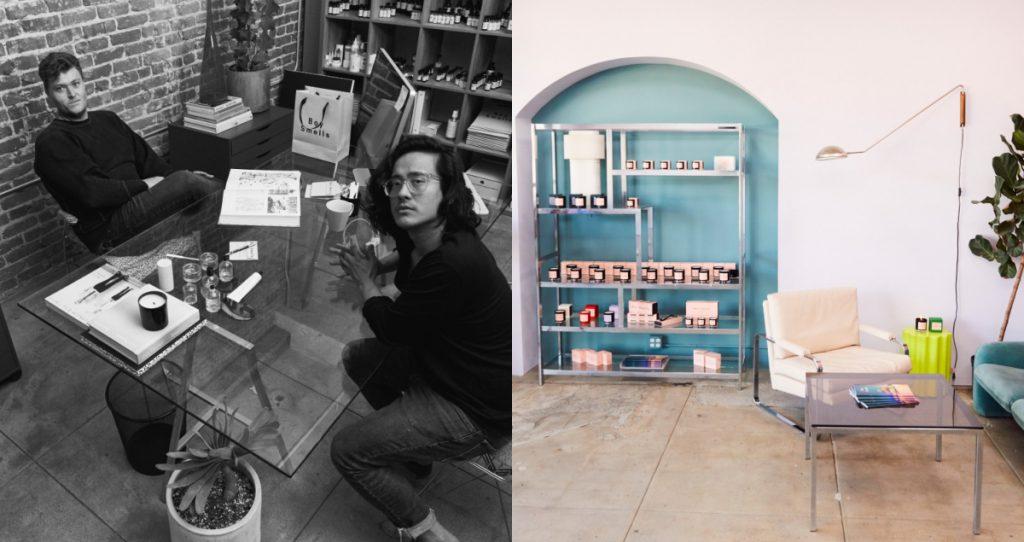 美國香氛品牌BOY SMELLS創辦人及LA工作室