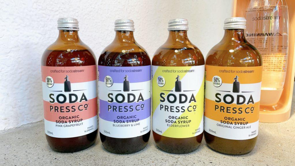 Soda Press有機糖漿