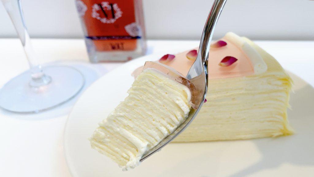 Lady M玫瑰千層蛋糕