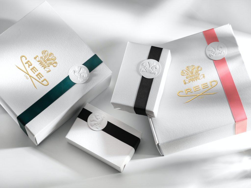 CREED「英國頂級禮盒包裝服務」