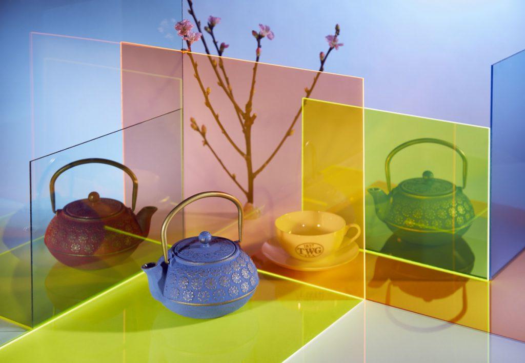 日式櫻花茶全壺系列共四款,每只售價 $3,320