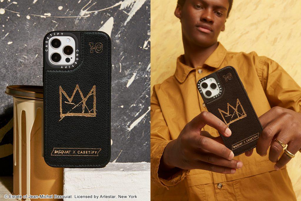 Basquiat x CASETiFY 聯名十週年限定皮革手機殼