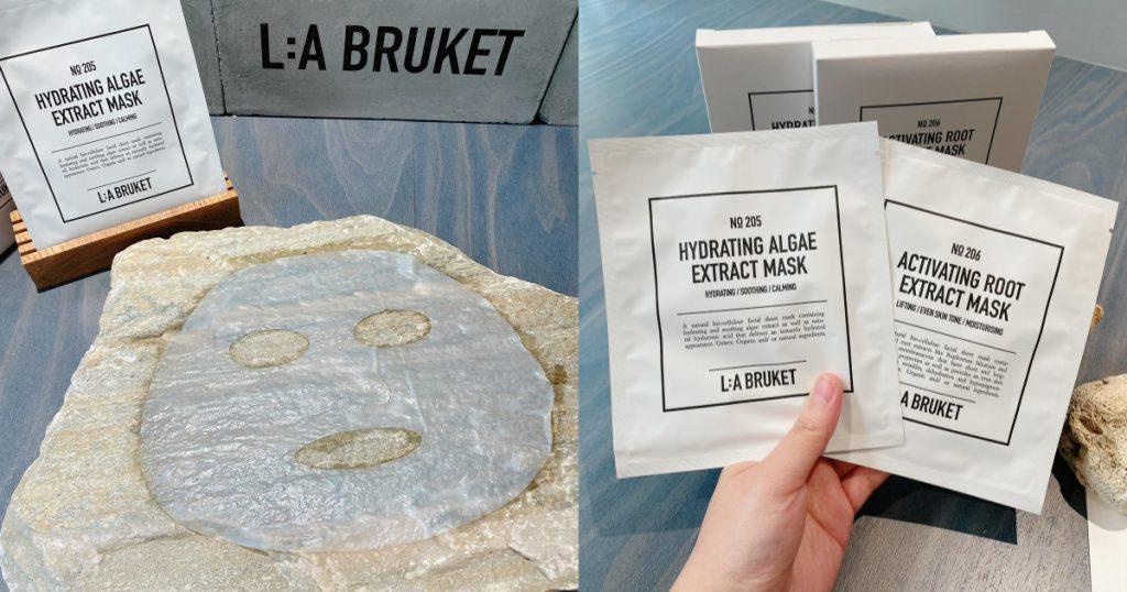 L:a Bruket 海藻精萃保濕澎彈、勻亮緊緻面膜