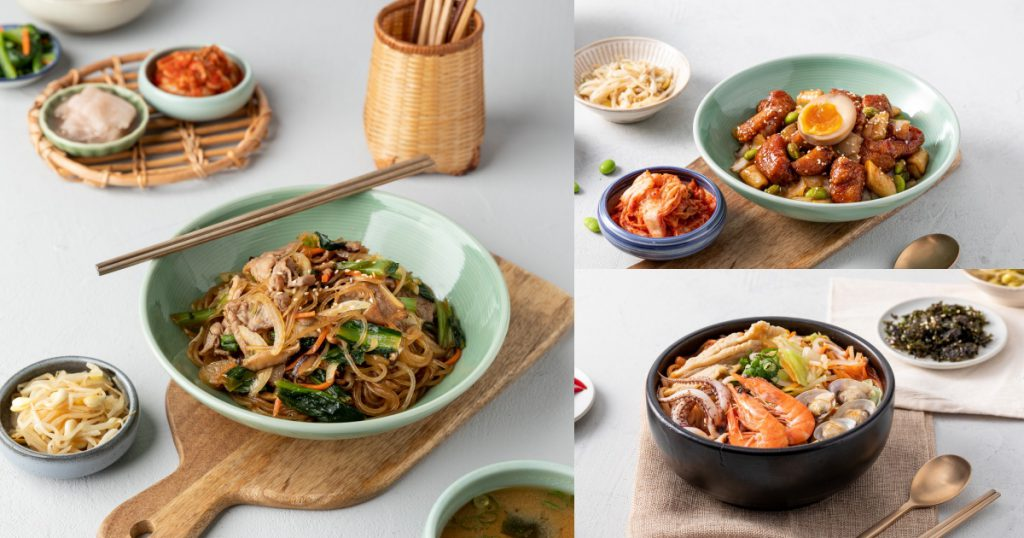 紅區經典韓食主餐
