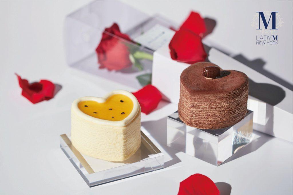 Lady M七夕情人節愛心蛋糕