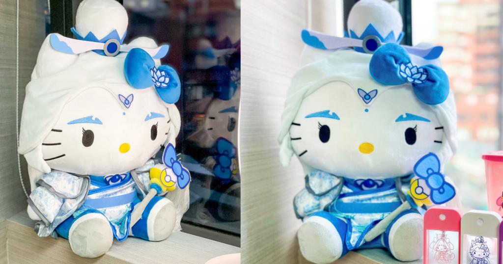 Hello Kitty素還真霹靂萌玩偶