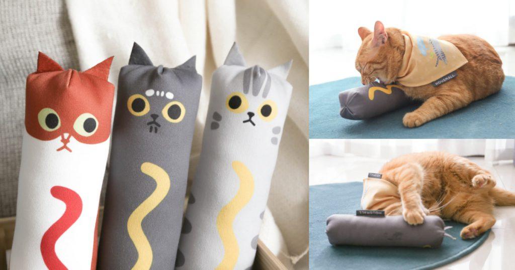 熱貓抱抱踢貓草玩具