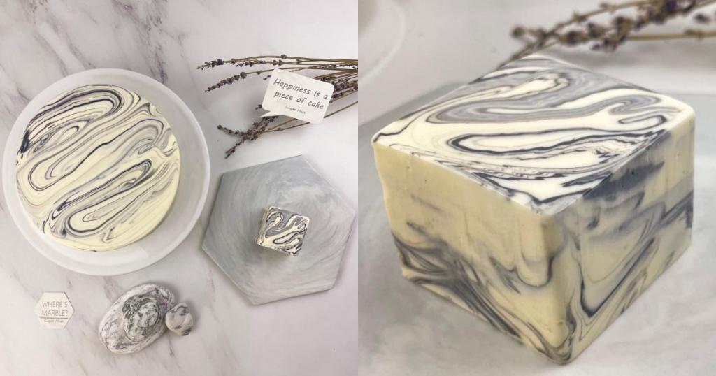 黑白大理石乳酪蛋糕