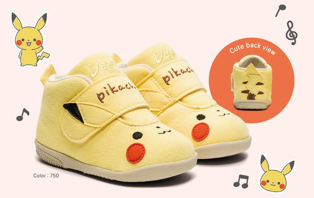 ASICS X Monpoké 精靈寶可夢-皮卡丘鞋款(13-16cm)/NT$1,680