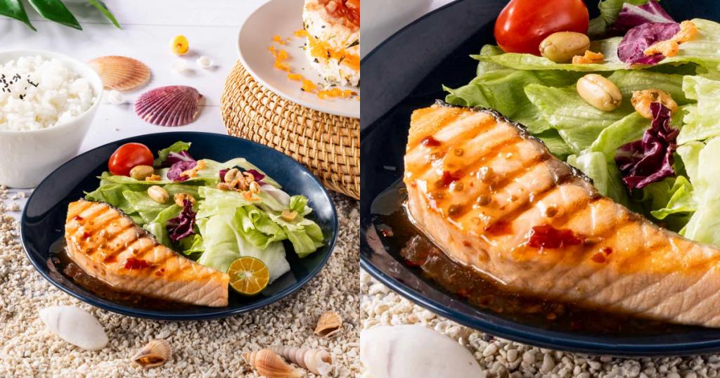 泰式嫩烤鮭魚菲力