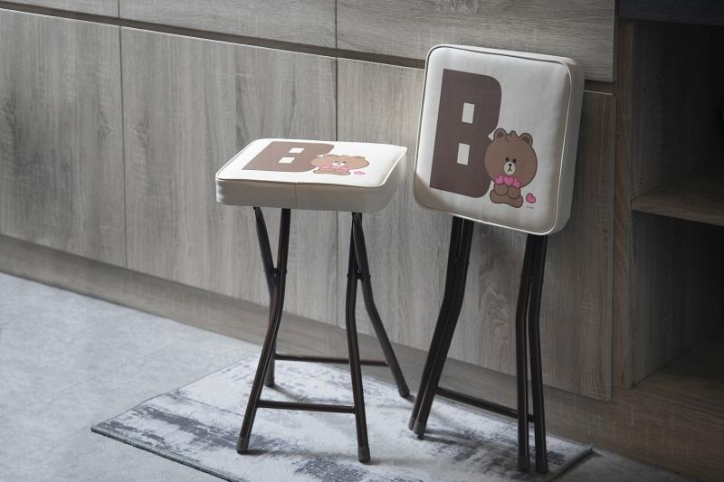 熊大摺疊凳
