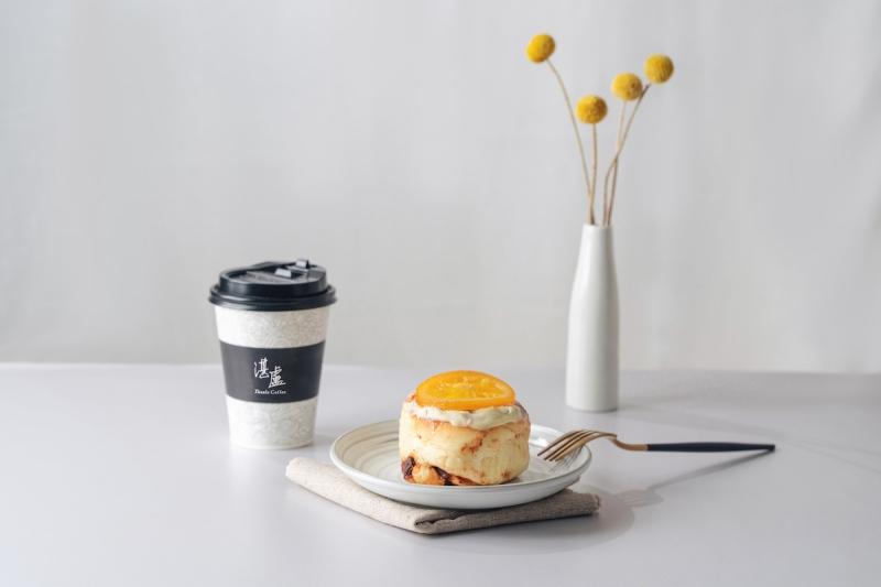 湛盧咖啡X柳橙王子橙香肉桂捲