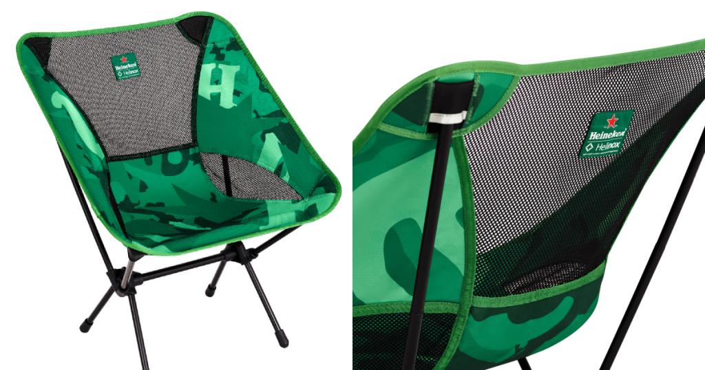 Heineken X Helinox Chair One 聯名輕量露營椅