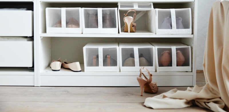 SKUBB鞋盒, 白色 價格$ 329 / 4件裝